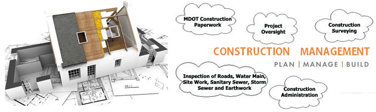 Construction management logo