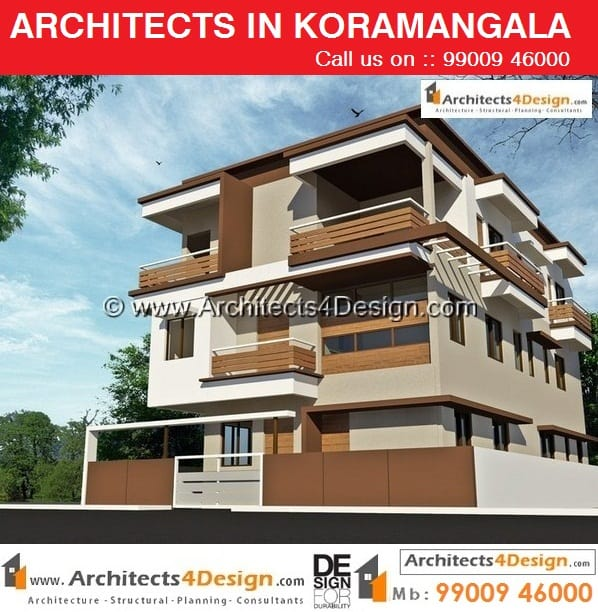 Residential building elevations in Bangalore house elevations duplex elevations in Bangalore 3 (2)