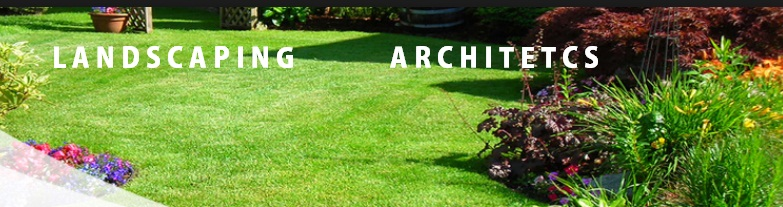Landscaping architects