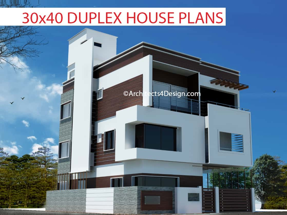 30x40 Duplex House Plans In Bangalore Or House