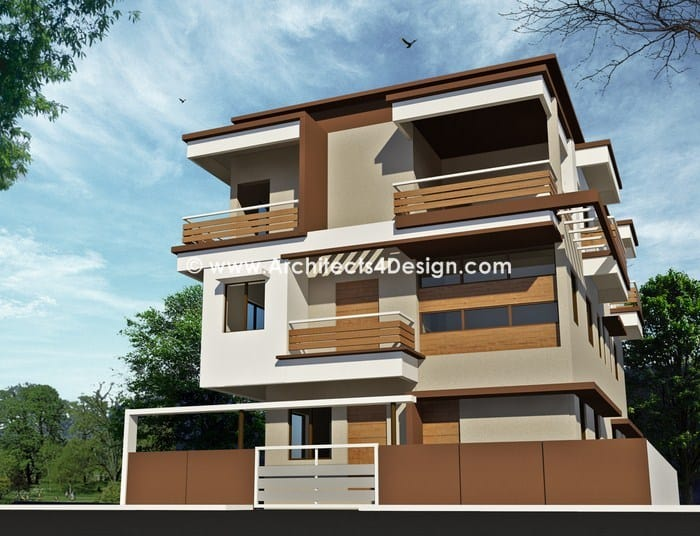 Residential house plans in bangalore gallery works for Residential home styles