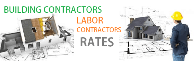 Construction Rates In Bangalore For Building Contractors Rates Bangalore  And Labour Contractors