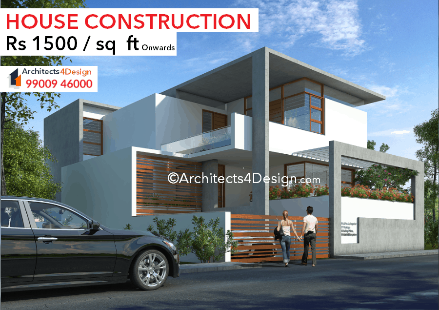 Construction cost in Bangalore