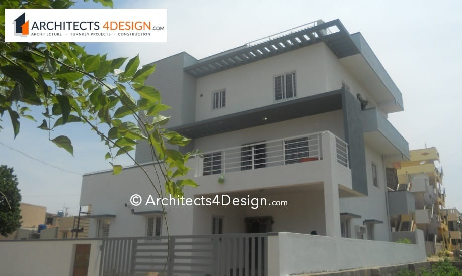 House construction cost in Bangalore residential cost