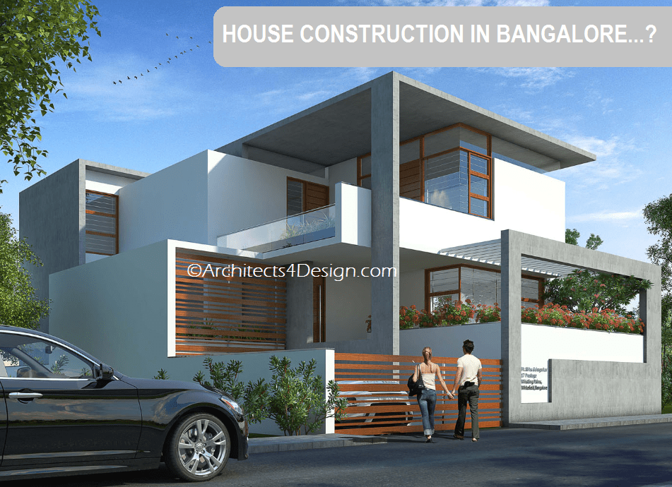 House construction cost in bangalore find residential House building estimate