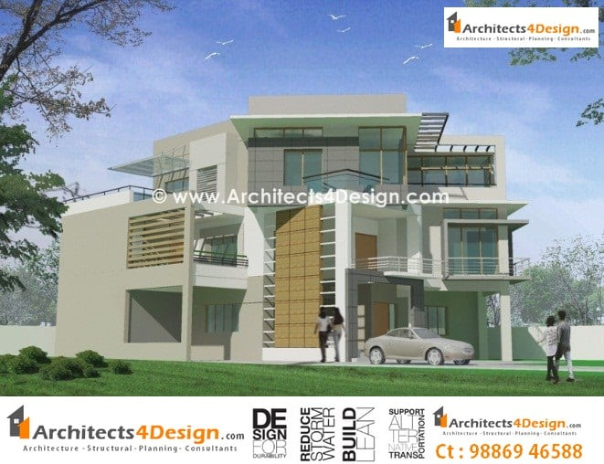House plan architects bangalore house design plans for Home designs bangalore