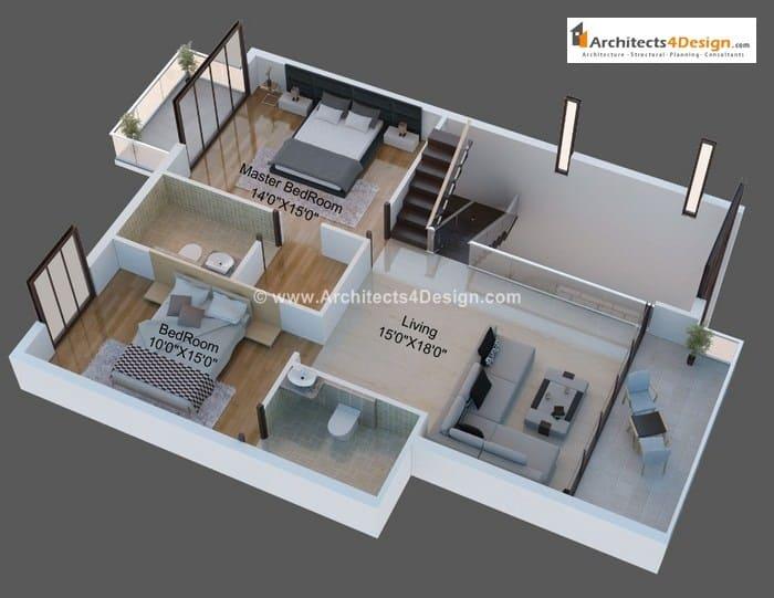 3d floor plans