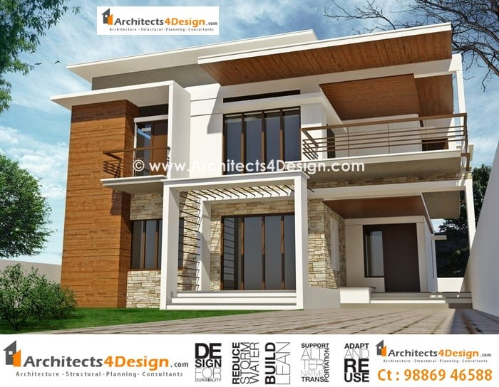 Front Elevation Of Residential Houses : Elevations in bangalore for house apartment villa and