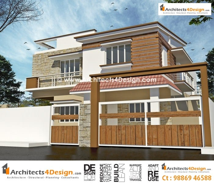Duplex house plans for 30x40 site