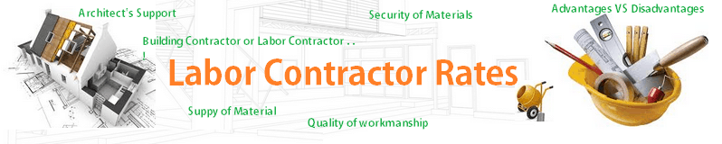 Labor contractor rates in Bangalore