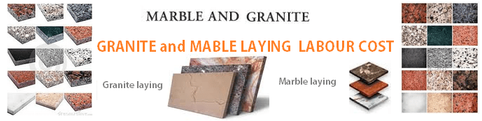 Granite laying cost in Bangalore marble laying