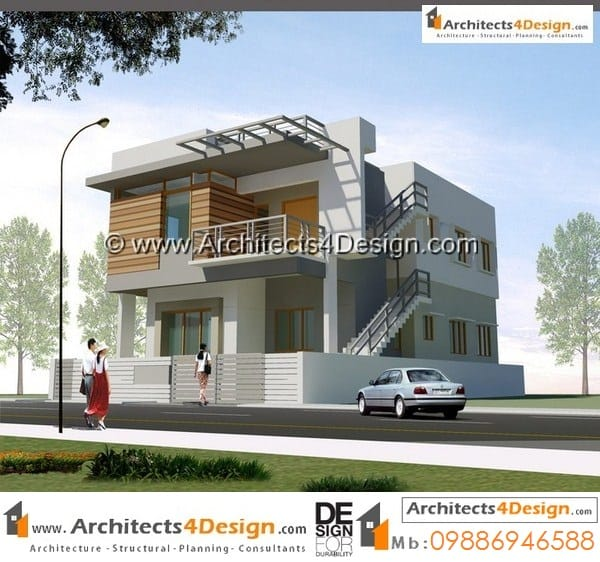 sample 2 for 30x40 house plans north facing ground and 1st floor of 2bhk house plan - Sample House Plans