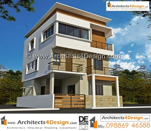Top 50 Modern House Designs Ever Built: 30x40 House Plans West Facing By Architects 30x40 West