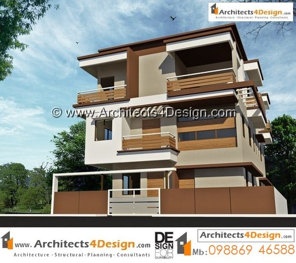 40x60 elevations find 40x60 house elevations sample duplex for North indian house plans with photos