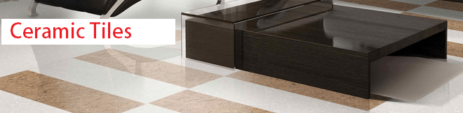 Ceramic tiles for ceramic flooring