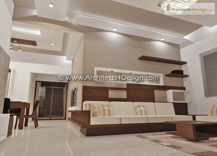 Interior design works for Residential House Apartment