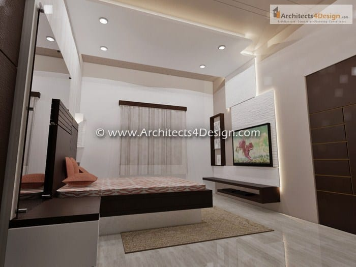 Interior design works for Residential House Apartment interiors at