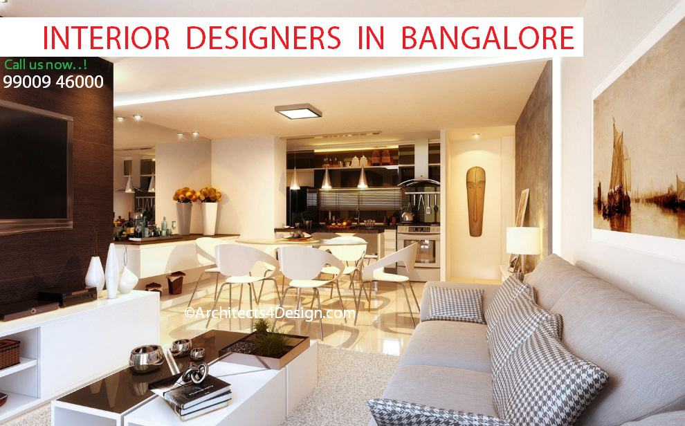 Interior designers in bangalore for for Residential interior designing services