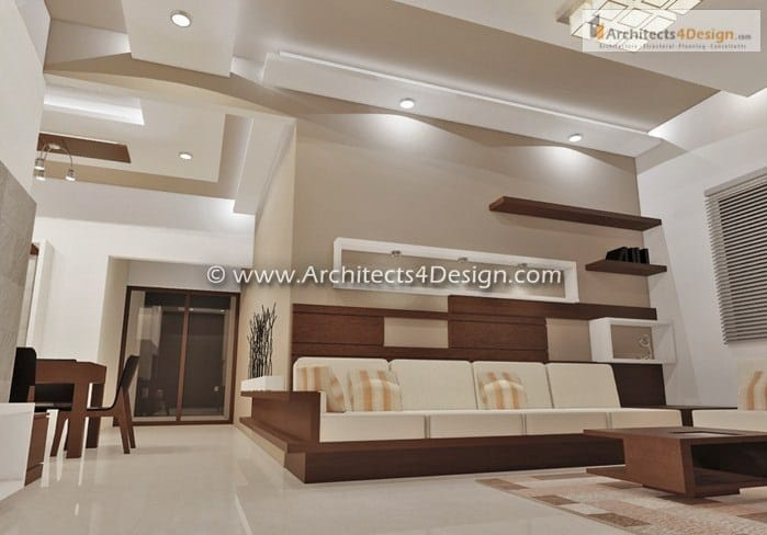 Duplex house interiors in Bangalore