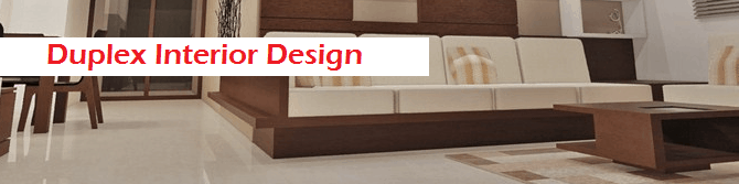 Duplex interior design
