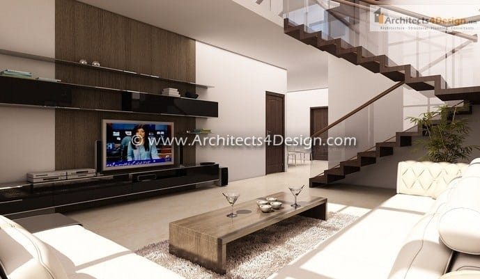 House interiors in Bangalore concet sample of house design