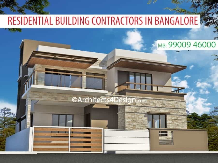 Residential building contractors in bangalore koramangala hsr layout sarjapur road hosur road electronic city