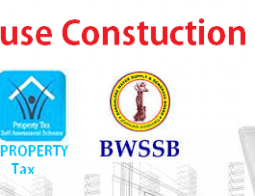 Government Approvals or Sanctions required for House Construction in Bangalore like BBMP BDA BMRDA BESCOM BWSSB