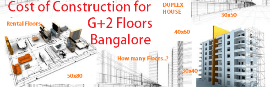 cost for g+2 floors