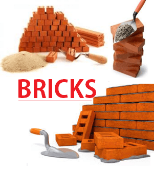 Bricks for construction