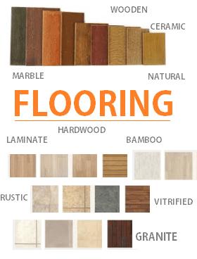 Flooring Options granite vitrified ceramic