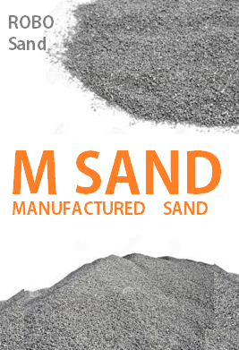manufactured sand or m sand bangalore