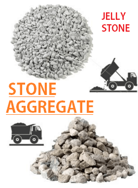 stone aggregates jelly stones for concrete