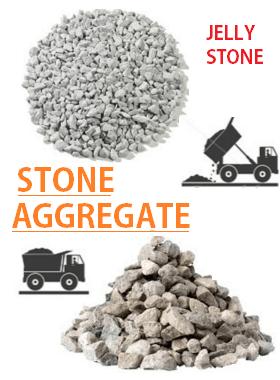 stone aggregates jelly stones for concrete