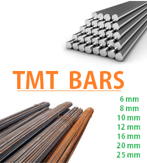 tmt bars steel bars 6 8 10 12 14 16 18 20 25 mm tmt bars