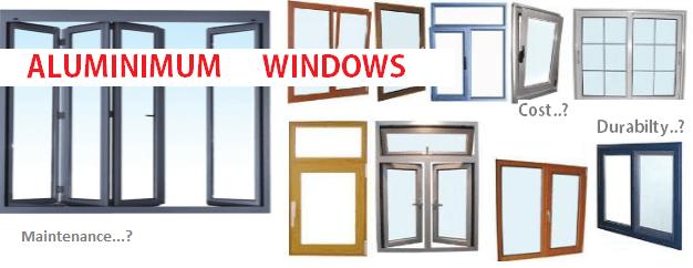 Aluminum Windows snaps