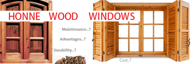 Honne wood windows