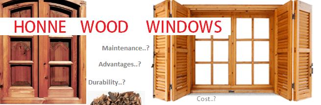 Honne wood windows