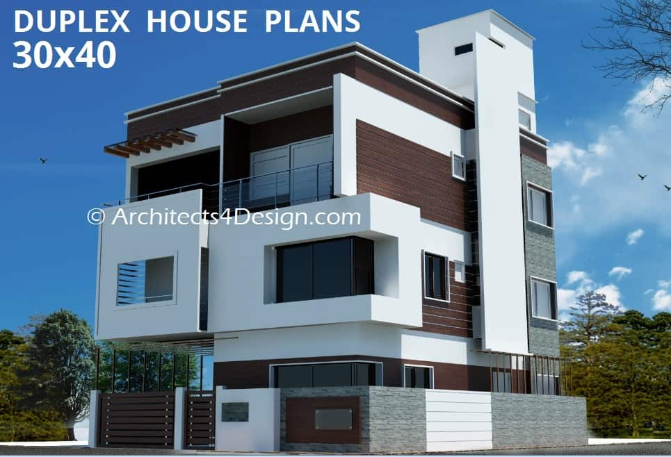 25 Beautiful Duplex House Plan On Best Design Ideas