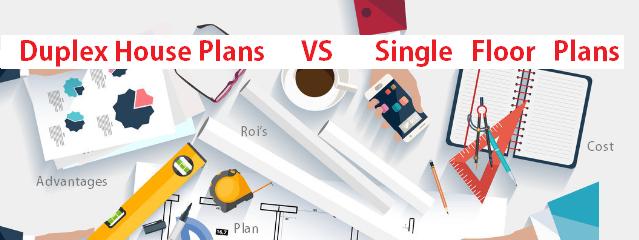 duplex-house-plans-vs-single-floor-plans-diffrence