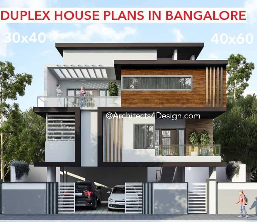 Duplex House Plans In Bangalore On 20x30 30x40 40x60 50x80 G 1 G 2 G 3 G 4 Duplex House Designs