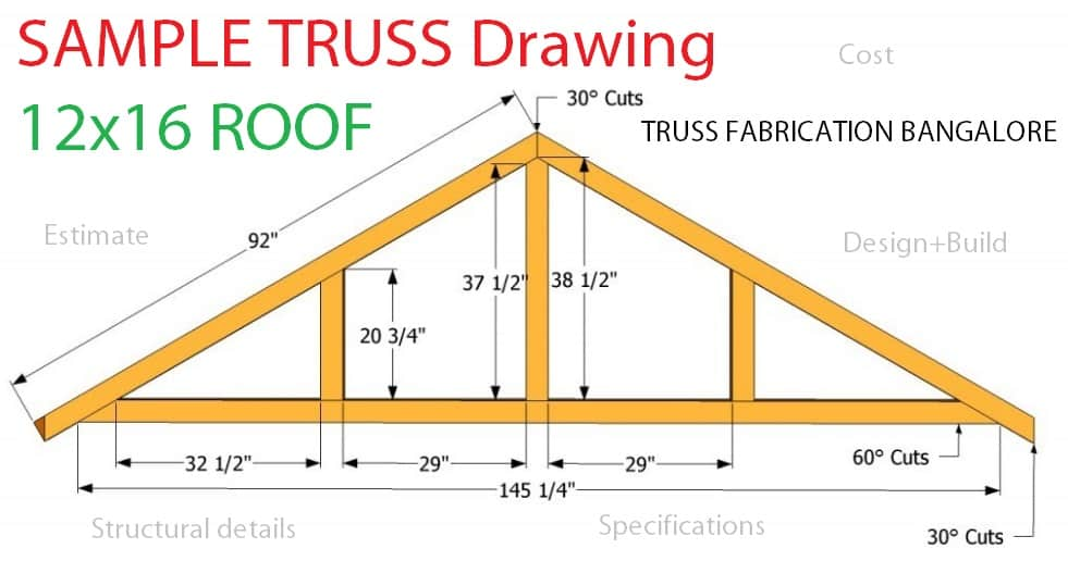 Sample Truss work drawings