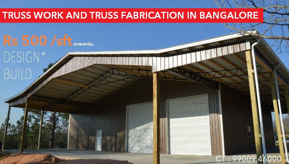 TRUSS WORK in BANGALORE | Truss Fabrication in Bangalore