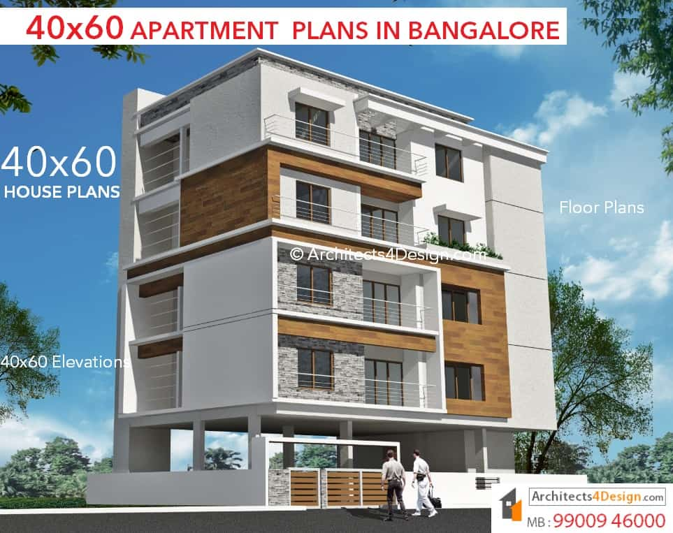 40x60 house plans in bangalore 40x60 duplex house plans for 40 x 40 apartment plans