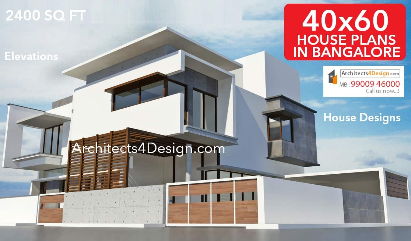 40x60 House Plans in Bangalore 2400 sq ft house plans elevations