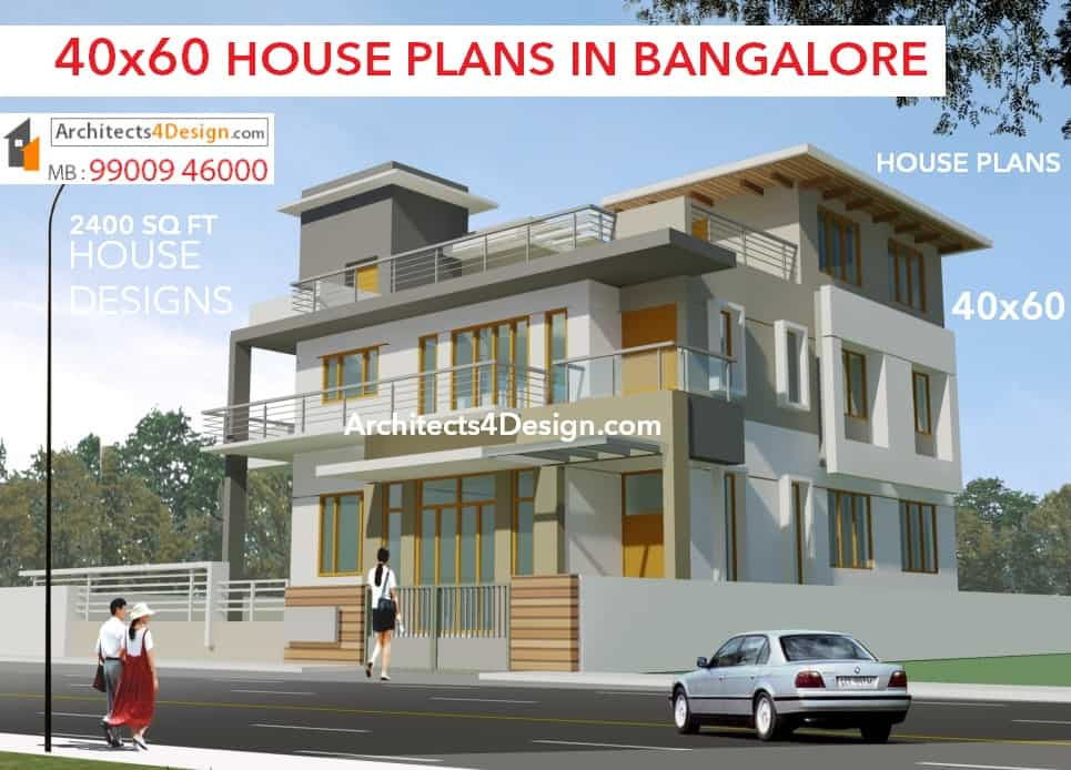 40x60 house plans floor plans elevations in bangalore