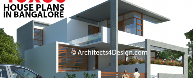 40x60 House plans in Bangalore