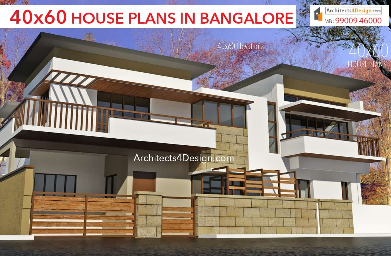 40x60 house plans in bangalore sample 40x60 house designs elevations 40x60