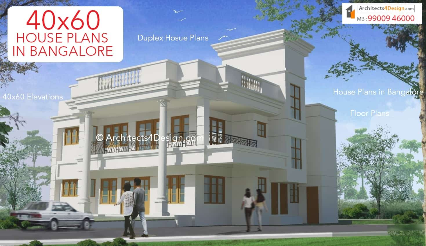 Ground Floor House Elevation In Bangalore : House plans in bangalore duplex