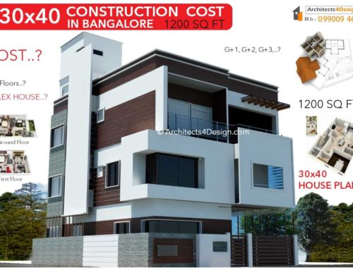 30×40 CONSTRUCTION COST in Bangalore | 30×40 House Construction Cost in Bangalore | 30×40 Cost of Construction in Bangalore | G+1 G+2 G+3 G+4 Floors 30×40 Residential construction cost