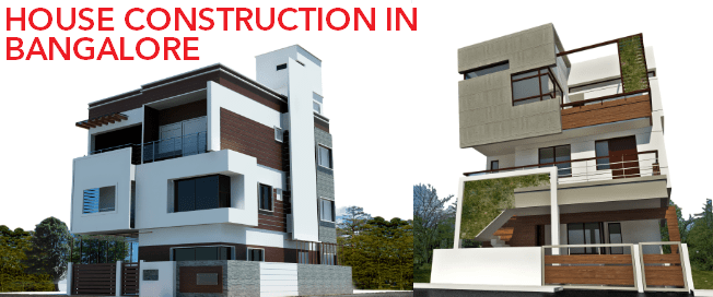House construction in Bangalore a